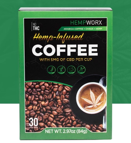 Hemp-Infused Coffee